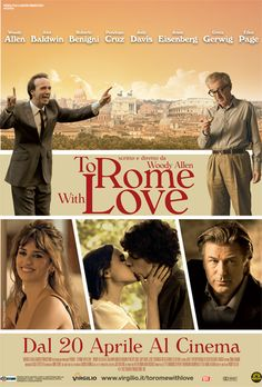 Oggi esce nelle sale To Rome With Love. Starring Lancia Thema!