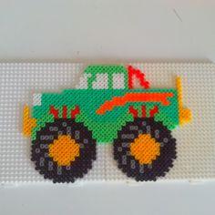Monster truck hama beads by Randi Frederiksen