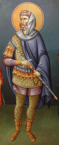 Byzantine Art, Vignettes, Fresco, Captain America, Saints, Projects To Try, Superhero, Mai, Fictional Characters