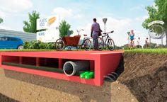 Plástico reciclado pode substituir asfalto nas ruas da Holanda