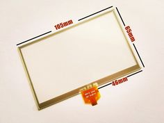 10pcs/lot New 4.3-inch Touch screen panels for LMS430HF29 LMS430HF39 GPS Touch screen digitizer panel replacement Free shipping #Affiliate