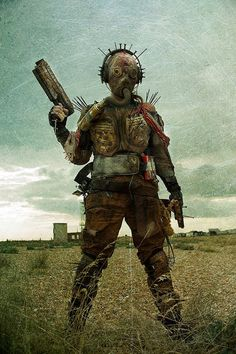 This was an image taken at dungeness for a series called 'Kill Music' I created the mask and turned some bike armour into a post apocalyptic outfit.   #mask #costume #apocalyptic #postapocalypse #spikes #armour #wasteland #photography #print #darkart