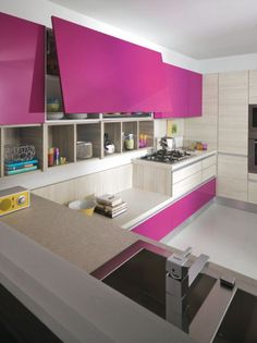 cucina fucsia - Cerca con Google