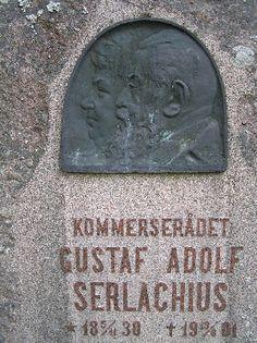 G. A. Serlachiuksen muistomerkki.