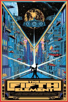 Cool Art: 'The Fifth Element' by Kilian Eng (Regular Edition)