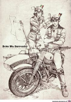 can we just get an aph motorcycle gang au already