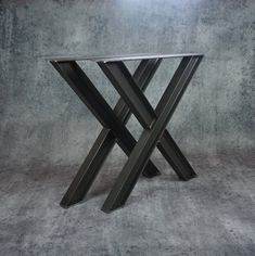 I beam Metal table legs/Iron / Steel Desk legs, Made in the USA ! Any Size ! Iron Table Legs, Diy Table Legs, Steel Table Legs, Dining Table Height, Steel Dining Table, Dining Table Legs, Dining Room, Workbench Legs, Desk Legs