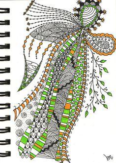 Zentangle #21