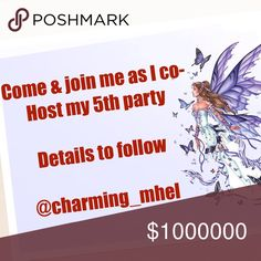"🍷PARTY w/me on 11/9, 7pm PT🍷 I will be Co-Hosting a night time party on 11/9, 7pm. Theme TBA. Please follow Poshmark Guidelines. I will be looking for new closets to inspire and be a part of this wonderful community we all ladies enjoy. ❤️❤️❤️""HOSTING SALE ITEMS"" will be first come first serve basis, so don't wait too long, it's a good deal."" ❤️❤️❤️ Other"
