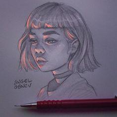 The Secrets Of Drawing Realistic Pencil Portraits - Luminous Pencil Portraits that Glow. By Angel Ganev. Secrets Of Drawing Realistic Pencil Portraits - Discover The Secrets Of Drawing Realistic Pencil Portraits Cute Drawings, Drawing Sketches, Pencil Drawings, Drawing Ideas, Tumblr Art Drawings, Horse Drawings, Graphite Drawings, Pencil Art, Portrait Au Crayon