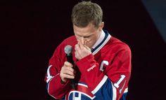 Saku Koivu oli huomion keskipisteenä Anaheim Ducksin ja Montreal Canadiensin välisen ottelun alkuseremoniassa.