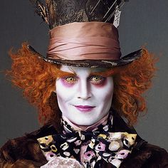 As the Mad Hatter