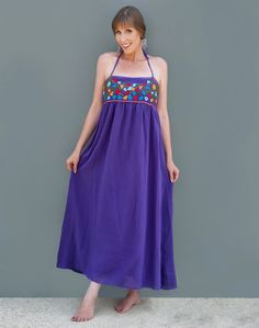 Bluseagal - Purple Colorful Maxi Dress, $79.00 (http://www.bluseagal.com/products/purple-colorful-maxi-dress.html)
