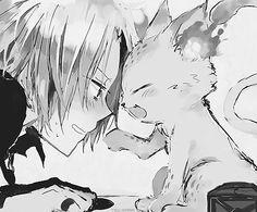 Gokudera and Uri!