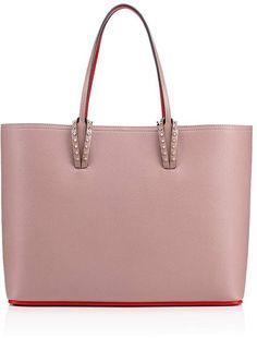 836e0c31092c Cabata Tote Bag Antic Pink Calfskin - Handbags - Christian Louboutin