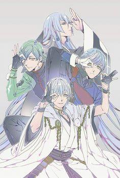 兄肌 Royal Milk Tea, Nikkari Aoe, Japanese Games, Manga Games, Touken Ranbu, Akita, Game Character, Anime Love, Female Characters