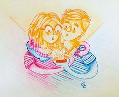 Encachaoart illustration/ graphic humor/ @encachaoart /Ilustracion/ humor grafico