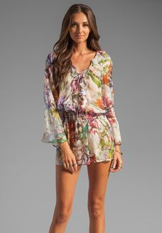 BEACH BUNNY Garden Party Tunic in Tropical at Revolve Clothing - Free Shipping!