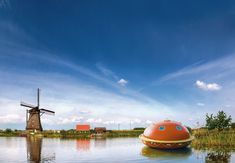 Imagine this being your hotel room while in the Netherlands?!  How cool would that be?