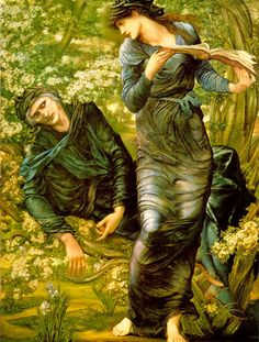 The Beguiling of Merlin by Edward Burne-Jones - Edward Burne-Jones - Wikipedia