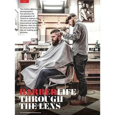 @modernbarbermag was out last weekend. I did the front cover along with this feature which included some of my barber photography and an interview.   I share some stories about my journey over the past 5 years, both personally and professionally, and also give tips on what makes a successful lifestyle photoshoot.    www.modernbarber.co.uk  www.timcollins.nl