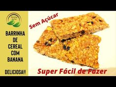 Banana Bread, Desserts, Food, Youtube, Homemade Cereal, Homemade Kind Bars, Cereal Bars, Morning Coffee, Healthy Recipes