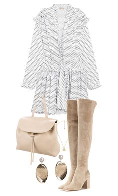 """""""Untitled #23664"""" by florencia95 ❤ liked on Polyvore featuring Alaïa, Gianvito Rossi, Mansur Gavriel, Gucci and MANGO"""