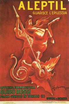 ALEPTIL 1923 by Cappiello