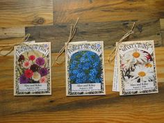 I Love The Idea Of Using Personalized Seed Packets As Place Cards And Maybe Identifying Wedding Shower FavorsWedding