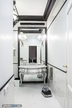 Interior, design, decor, bathroom,  grey, white, silver