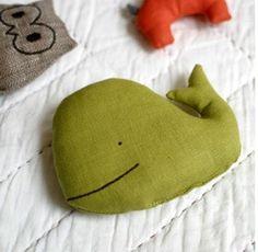 linen soft toy by Lotta Jansdotter