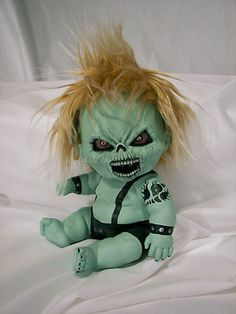 OOAK Krypt Kiddies horror evil demon zombie gothic scary cute reborn doll | eBay