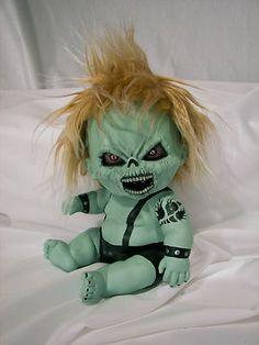 OOAK Krypt Kiddies horror evil demon zombie gothic scary cute reborn doll | eBay