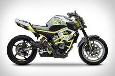 Yamaha Cage-Six Concept Stunt Motorcycle.