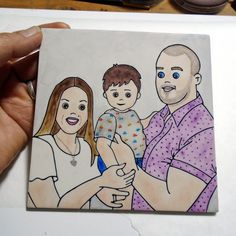 Family gift, Little Love Portrait, personalized family gift, family memories pic, family reunion gift