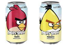 Angry Birds diventa anche una bevanda in lattina e batte CocaCola e Pepsi