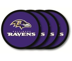 Baltimore Ravens Coaster 4 Pack Set