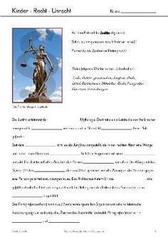 Free: Recht und Unrecht (Unterrichtsmaterialien für die 5./6. Klasse)