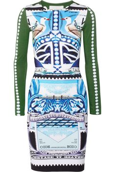Shop for Starsailor printed stretch-jersey dress by Mary Katrantzou at ShopStyle. Fashion Prints, Love Fashion, Womens Fashion, Fashion 101, Sailor Dress, Mary Katrantzou, Kinds Of Clothes, Day Dresses, Dress To Impress