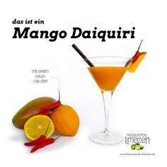 das ist der Mango Daiquiri von freilaufende Limetten
