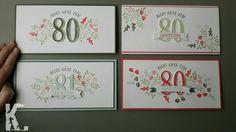 StampinUp / Framelits große Zahlen / 80 Jahre / Geburtstagskarte / runder Geburtstag / katja@loft19.de