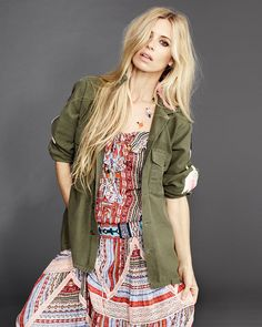 Model/Writer extraordinaire Laura Bailey is the subject of our new season trend shoot in #TheStyleReport this week, as we provide all the resources required to channel boho into your SS15 wardrobe.