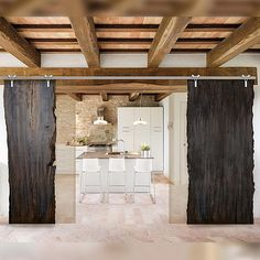 Bog Oak design is an innovative provider of exotic wood material, millwork, and design concepts to the residential and commercial Architectural & Design community and the exclusive distributor of Bog Oak raw material in North America. Interior Sliding Barn Doors, Sliding Doors, Oak Doors, Panel Doors, Interior Design Boards, Wood Mosaic, Old Wood, Decoration, Barn Wood