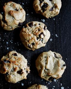 salted tahini chocolate chunk cookies - www.theoriginaldish.com