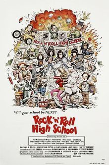 Anarchy in the Movie : Rock 'n' Roll High School, le film maudit des Ramones High School Posters, High School Movies, Rock N Roll, Classic Rock And Roll, Ramones, Clint Howard, Roger Corman, Nastassja Kinski, Best Movie Posters