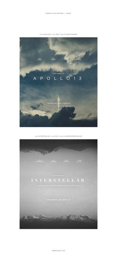 | minimal film posters | on Behance