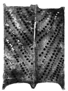 Robe made to imitate leopard skin with rosettes with the name of Harnedj-? Period: Roman Period Date: A. century Geography: From Egypt; Said to be from Northern Upper Egypt, Qaw el-Kebir (Antaeopolis): Pernebwadjyt Medium: Linen, paint Accession Number: Ancient Rome, Ancient Greece, Ancient Egyptian Clothing, 1st Century, Prehistory, Black History, Period, Vintage Fashion, Textiles