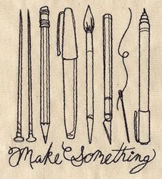 Make Something   Urban Threads: Unique and Awesome Embroidery Designs