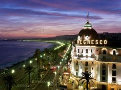 Negresso Hotel and Blue Beach Nice France # French Riviera!