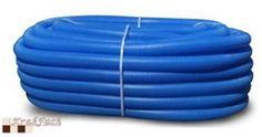 Rura osłonowa karbowana niebieska
